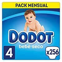 Dodot Bebé – 尿布,256 片,4 号