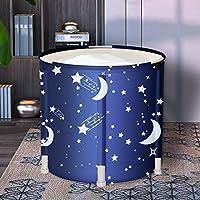 LUCKUP 便携式浴缸,易于安装,环保浴缸 浴室 浴室 浴室 蓝色
