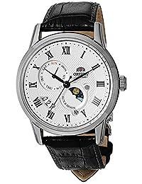 Orient 时尚FAK00002S0 analog 皮革 黑色 FAK00002S0 watches