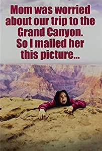 "9851 'Grand Canyon' - Funny Mother's Day Greeting Card with 5"" x 7"" Envelope by NobleWorks"