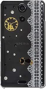 智能手机壳 透明 不可思议的国 爱丽丝 装饰 套 透明壳 硬质 装饰 定制 壳wn-0064046-wy AQUOS SERIE mini SHV31 ダイヤ04