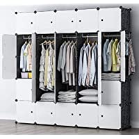 BIGTREE 25 立方体模块化可定制衣柜单位适用于家庭办公室儿童存储