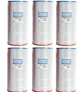 Unicel 替换滤芯 72 平方英尺Sta-rite 70TX 每包6条 UHD-SR70-6