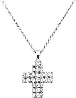 [Amazon Collection] Amazon Collection 铂金镀白银 透明立方氧化锆 附赠吊坠项链 吊坠 JEP00358_121CL00QD00