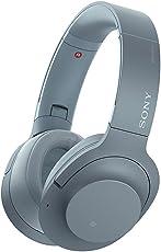 Sony 索尼 WH-H900N 蓝牙无线耳机 降噪耳机 头戴式 Hi-Res游戏耳机 手机耳机 月光蓝
