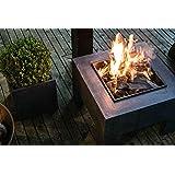 Ivyline Firebowl & Square Console 40 厘米火盆,花岗岩