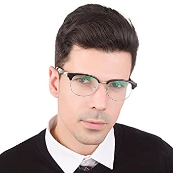Jimmy Orange眼镜框男女款板材加金属光学眼镜框时尚气质圆框眼镜6602 JO6602/BKW 黑框(斑马条纹) 51mm