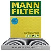 MANNFILTER 曼牌 CUK2862 Adsotop活性炭空调滤清器朗逸 宝来 奥迪A3 TT 都市高尔夫 新甲壳虫