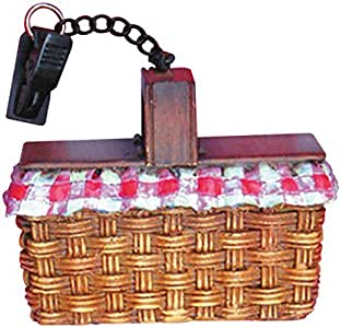 Rome's #2034 Set of 4 2.5 Inch x 1 Inch Picnic Basket Tablecloth Weights