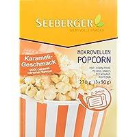 Seeberger 希貝格 微波爐爆米花 焦糖味 8包(8 x 270克)