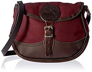 Duluth Pack #100 Deluxe Shell Bag, Burgundy, 9 x 11 x 2-Inch