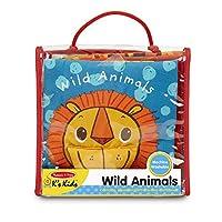 Melissa & Doug 软软的婴儿书 - 野生动物