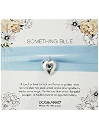 Dogeared Something Blue 花束环,标准纯银 银色 one_size