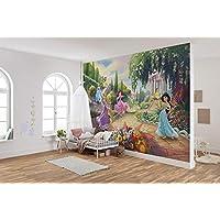 Komar 迪士尼照片壁纸 公主公园 | 尺寸:368 x 254 厘米(宽 x 高)| 女孩,公主,壁纸,儿童房,装饰 - 8-4109