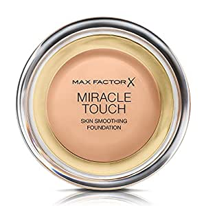 Max Factor 蜜丝佛陀 Miracle Touch 幻彩粉底液,No.45 暖杏色,0.38盎司(约11克)