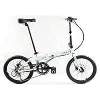 SUFOLD舒孚 KAA084 S18铝合金碟刹超轻折叠自行车适合身高150-180cm体重110KG以下
