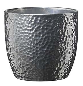 soendgen BOSTON 银陶瓷花朵植物 pots