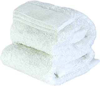 "ORUNET""SUIFUTOSHA Towel Like Baby Undershirt 采用*优质的纱线酒店 SPA 运动婴儿礼物 白色 Washcloth 2-Piece"