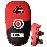 Amber Fight Gear Muay 泰国 MMA 踢腿训练弯曲踢脚垫(一对)