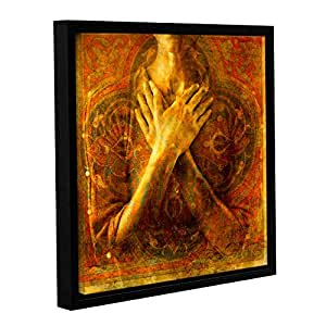 """Elana Ray's Honor Self Gallery Wrapped Floater Framed Canvas, 24 x 24"""""""