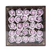 九州花朵服务 花卉谷物泡澡剂 迷你玫瑰香水S 25轮装 77支