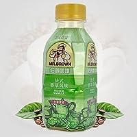 台湾伯朗咖啡 法式香草咖啡饮料 3合1即饮品 330ml/瓶装