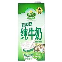 Arla 爱氏晨曦 德国 进口牛奶 有机全脂纯牛奶 1L*12(德国进口)