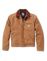 Carhartt .EJ001.BRN.S006 Duck Detroit Jacket, Large, Brown