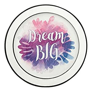 Danielle D3768 水彩引语 5X 放大化妆镜 Dream Big D3767