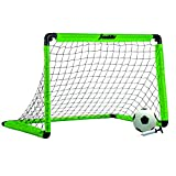 "Franklin Sports 3' Insta 足球目标套装,霓虹绿色,36"" x 24"" x 24"""