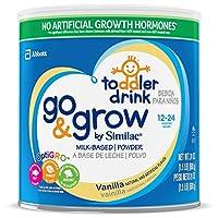 Similac 雅培 Go & Grow婴幼儿奶粉,香草口味 1.5磅(680g)(4罐装)