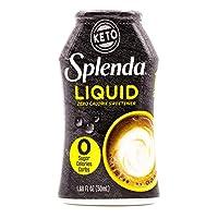 SPLENDA Zero Liquid Sweetener, 1.68 Fl Oz
