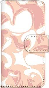 智能手机壳 手册式 对应全部机型 印刷手册 wn-120top 套 手册 大理石图案 艺术 蛇 方块 艺术 美术 UV印刷 壳WN-PR054084-ML AQUOS SH-M02 图案 A
