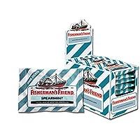 Fisherman's Friend 漁夫之寶 留蘭香薄荷味潤喉糖 24小袋/盒 ,****,清新口氣