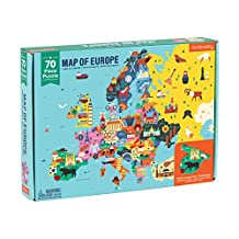 Map of Europe: 70 Piece Puzzle