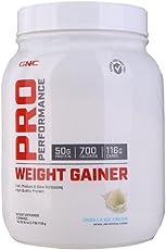 GNC 健安喜 增肌复合粉(香草味)1134g/罐(进口)