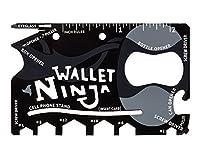 Wallet Ninja Tools 18 In 1 Multi-purpose Credit Card Size Pocket Tool
