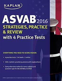 """Kaplan ASVAB 2016 Strategies, Practice, and Review with 4 Practice Tests: Book + Online (Kaplan Test Prep) (English Edition)"",作者:[Kaplan Grad Test Prep]"
