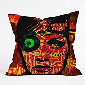 DENY Designs Amy Smith Fire Throw Pillow, 20 x 20
