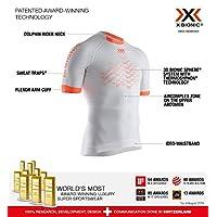 X-Bionic 男式 The Trick 4.0 跑步短袖衬衫