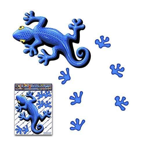 BLUE GECKO 小动物乙烯基窗户保险杠贴花贴纸适用于汽车卡车 Caravans - ST00031BL_SML - JAS 贴纸