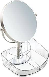 InterDesign Rain Vanity Organizer with Mirror