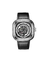 SEVENFRIDAY 瑞士品牌  自动机械男士手表 纯粹动能 P1-1(亚马逊自营商品, 由供应商配送)