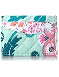 Vera Bradley 标志性超薄卡包,棉质
