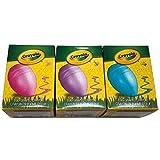 Crayola My First Crayons Egg 形状易握儿童手掌 3 个单独盒子