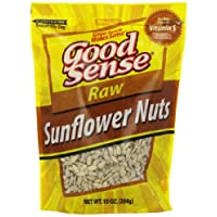 Good Sense Raw Sunflower Nuts, 10-Ounce (Pack of 12)