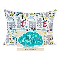 Little Sleepy Head Toddler Pillowcase - Cars, 13 x 18