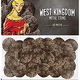 Architects o/t West Kingdom: Metal Coins Kingdom Board Game Renegade Studios