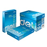 DeLi 得力 7401 莱茵河纯木浆多功能复印纸(70g/A4 5包/箱)