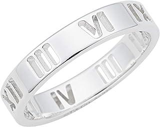 [蒂芙尼] TIFFANY 純銀 ATLAS 窄式戒指【平行進口品】